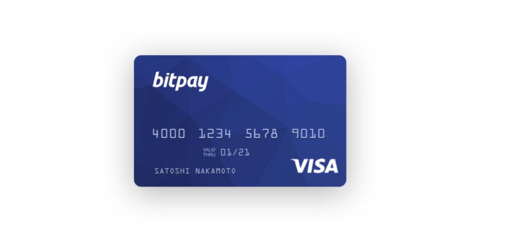 Bitpay - Bitcoin Credit Card