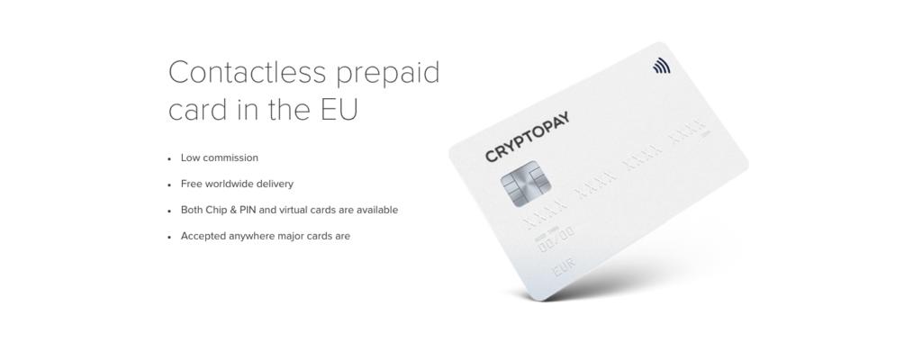 Cryptopay - Bitcoin Credit Card