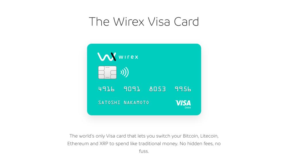 Wirex - Bitcoin Credit Card
