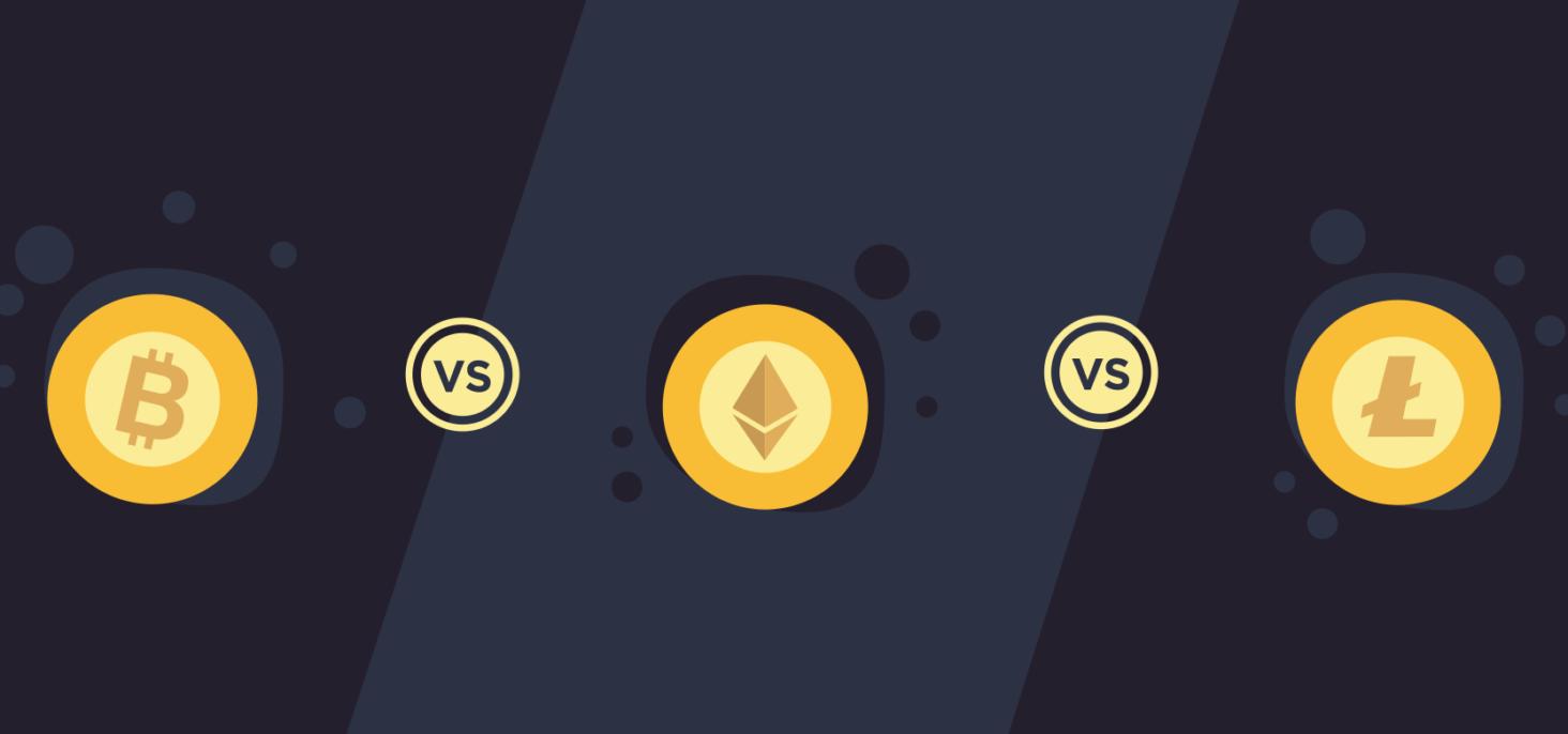 Bitcoin vs Ethereum vs Litecoin – The Original Cryptocurrencies